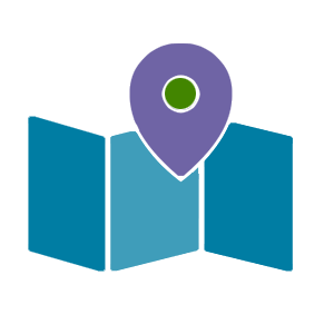 Symbol für eine digitale Wanderkarte vom Salzburg Land